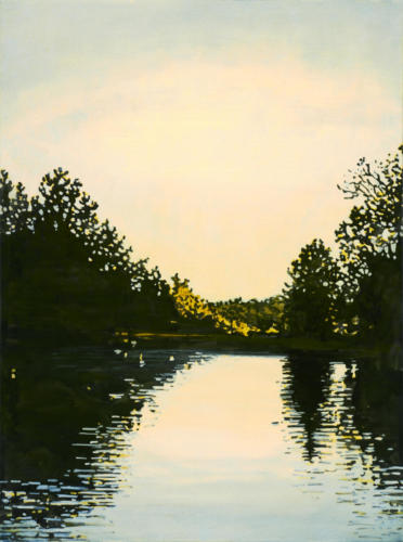 Early Morning, Trent Canal 40x30 SOLD