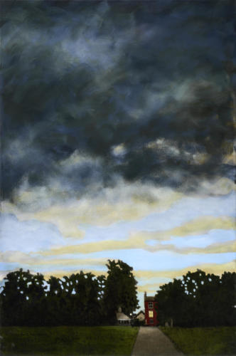 "Approaching Storm, Safety 30x20"" SOLD"