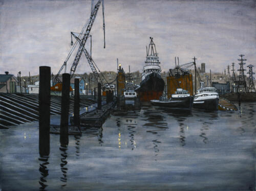 Peer_FloatingDrydockVancouver_30x40