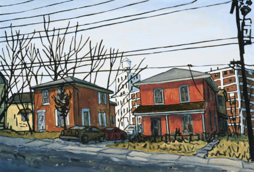 "Sheridan St., Peterborough 20x30"" SOLD"