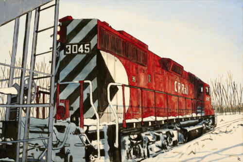 "Winter Day, Peterborough 24x36"" SOLD"